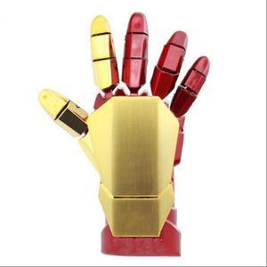Iron Man 右手 USBメモリ 16GB アイアンマンright HAND LEDライト大人気個性ハードかっこいいフラッシュUSB2.0