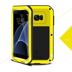 Galaxy S7edge ケース LOVE MEIアルミ合金カバーギャラクシーS7エッジ人気史上最強耐衝撃SC-02H SCV33