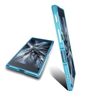 強化ガラスフィルム付き(2点セット)極光 Xperia XZ SO-01J ケースXperia X Compact SO-02J アルミバンパー合金フレーム ストラップホール付き メタル人気