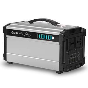Rockpals G500 ポータブル電源 大容量 無停電電源装置 444Wh/120000mAh/...