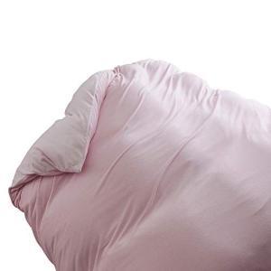 セシール 掛けふとんカバー ピンク シングル 綿スマートヒート CR-1065