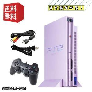 PS2 PlayStation 2 プレイステーション2 本体 SAKURA (SCPH-50000SA) 【すぐ遊べるセット】 daichugame