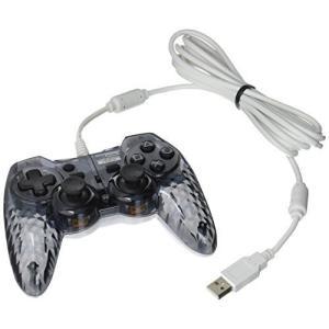 【PS3対応】ホリパッド3 ミニ クリアブラック  コントローラー daichugame