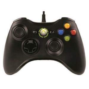 マイクロソフト ゲームコントローラー 有線/Xbox/Windows対応 ブラック Xbox360 Controller for Windows 52A-00006 daichugame