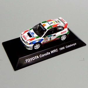 CM's(シーエムズ) ラリーカーコレクション SS.6 1/64 トヨタ編 TOYOTA COROLLA(カローラ) WRC 1998 Catalunya #5 模型 ミニカー