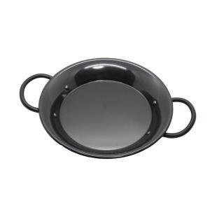鉄製 パエリアパン 両手鍋 22cm IH電磁調理器対応 日本製 1人用|daidokoroyazakkaten