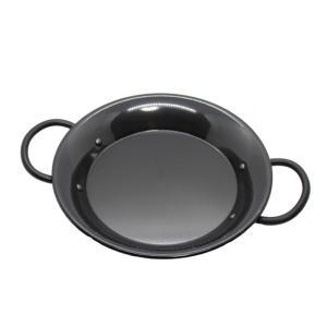 鉄製 パエリアパン 両手鍋 24cm IH電磁調理器対応 日本製 2人用|daidokoroyazakkaten