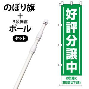 不動産のぼり旗・ポールセット「好評分譲中」NA-139-P|daiei-sangyo