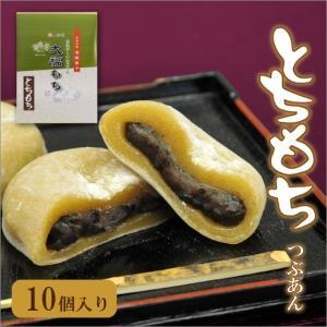とちもち とち餅 10個箱入り 栃の実大福 粒餡入り daifukujyou