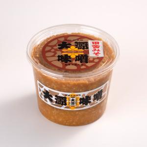 田舎みそ(中辛) 1kg|daigenmiso