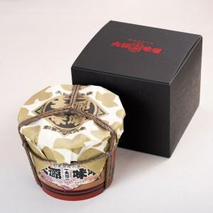 かみがた・松風・本印赤だし 各800g 〈みやこ樽入り〉|daigenmiso