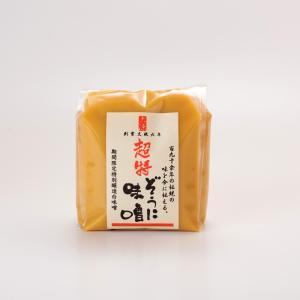 超特ぞうに味噌(甘口) 500g|daigenmiso