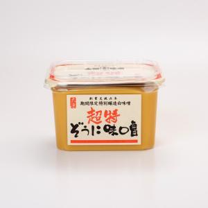 超特ぞうに味噌(甘口) 500gカップ入り|daigenmiso