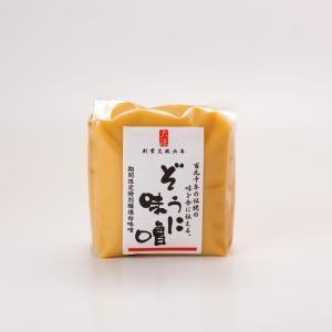 ぞうに味噌(甘口) 500g|daigenmiso