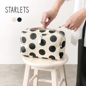 STARLETS(スターレッツ) ドット ポーチ / レディース / 日本製 / バッグインバッグ ...