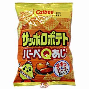サッポロポテト バーベQあじ カルビー 24gの商品画像|ナビ