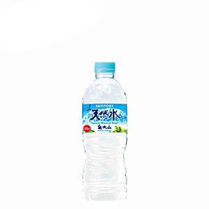 奥大山の天然水 サントリー 550ml PET 24本入り