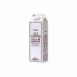 ホーマー アイスコーヒー 加糖 1L紙パック 12本入り