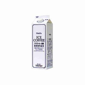 ホーマー アイスコーヒー 無糖 1L紙パック 12本入り