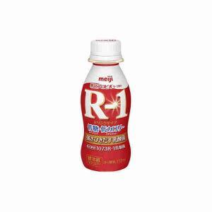 プロビオヨーグルト R-1 ドリンクタイプ 低糖 低カロリー 明治 112ml 24本 (要冷蔵)