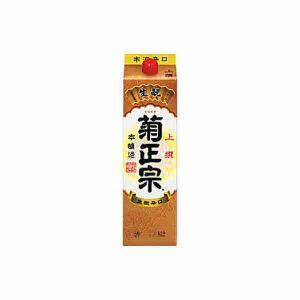 本醸造 上撰 菊正宗酒造 1.8L(1800ml) パック 6本入り