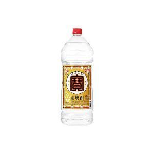 宝焼酎 25度 宝酒造 4L(4000ml) ペット 4本入り