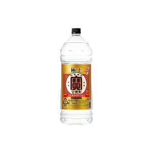 極上 宝焼酎 25度 宝酒造 4L(4000ml) ペット 4本入り