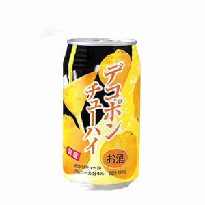 ジューシーデコポンチューハイ JA熊本果実連 350ml 2...