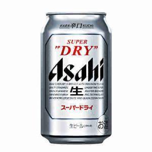 アサヒ スーパードライ 350ml缶 1ケース24本入