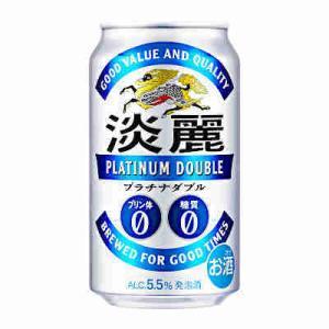 アルコール度数 :  5.5度 プリン体0、糖質0の2つのゼロとスッキリした飲み口が特長の発泡酒です...