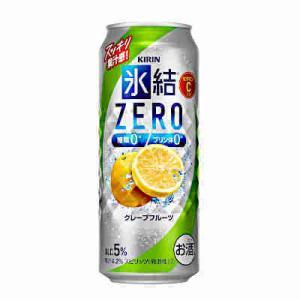 氷結ZEROゼロ グレープフルーツ キリン 500ml缶 24本入り