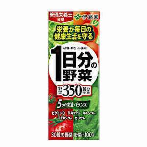 1日分の野菜 伊藤園 200ml 紙パック 24本入りの商品画像