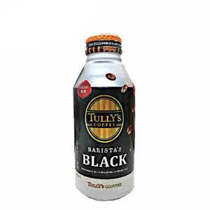 タリーズ コーヒー バリスタズ ブラック 伊藤園 390ml ボトル缶 24本入り