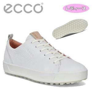 (大特価・レディース) エコー ゴルフシューズ スパイクレス ゴルフソフト ハイブリッド HM ECCO GOLF SOFT WOMENS HM 101103 01002|daiichigolf