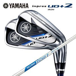ヤマハ Yamaha インプレス UD+2 アイアン   N.S.PRO Zelos7 シャフト #7〜PW 4本セット|daiichigolf