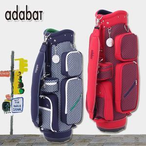 アダバット キャディバッグ ニット柄プリント Adabat 8.5型 646-09950|daiichigolf