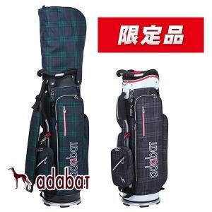 (数量限定)アダバット キャディバッグ 9型 軽量タイプ ポーチ付き Adabat ABC309|daiichigolf