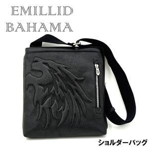 エミリッドバハマ バッグ ショルダー 獅子 型押しEMILLID BAHAMA ライオン|daiichigolf