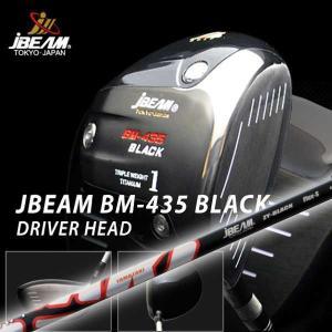 特注カスタムクラブ J-BEAM BM-435ブラック ドライバー JBEAM ZY-BLACK  シャフト|daiichigolf
