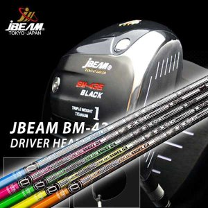 特注カスタムクラブ J-BEAM BM-435ブラック ドライバー クライムオブエンジェル カリフォルニアシャフト|daiichigolf