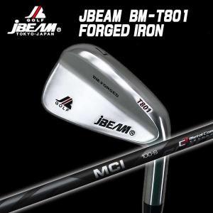 (特注カスタムクラブ) J-BEAM BM-FORGED T801 アイアン 藤倉 MCI Blackシャフト|daiichigolf