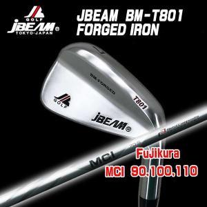 (特注カスタムクラブ) J-BEAM BM-FORGED T801 アイアン 藤倉コンポジット MCI 90-110 シャフト|daiichigolf