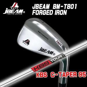 (特注カスタムクラブ) J-BEAM BM-FORGED T801 アイアン KBS Cテーパー95シャフト|daiichigolf