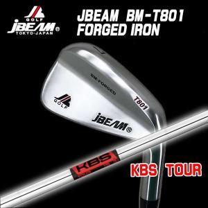 (特注カスタムクラブ) J-BEAM BM-FORGED T801 アイアン KBS ツアー シャフト|daiichigolf