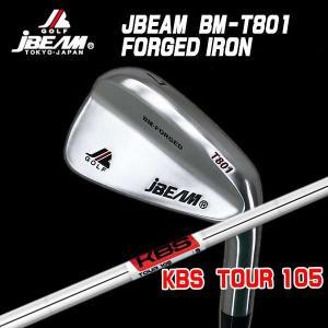 (特注カスタムクラブ) J-BEAM BM-FORGED T801 アイアン KBS ツアー105 シャフト|daiichigolf