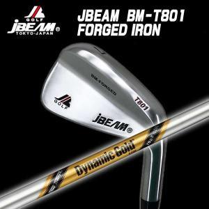 (特注カスタムクラブ) J-BEAM BM-FORGED T801 アイアン トゥルーテンパー ダイナミックゴールド ツアーイシューシャフト|daiichigolf
