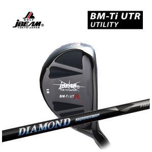 (特注カスタムクラブ) J-BEAM BM-TIUTRユーティリティー 藤倉 ジュエルシリーズ ダイヤモンドスピーダーHB シャフト daiichigolf