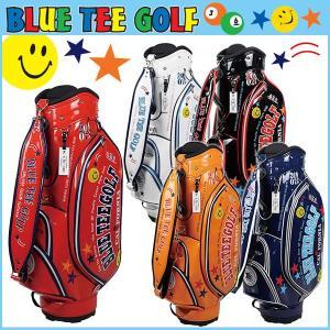 ブルーティーゴルフ キャディバッグ エナメル 9型 BLUE TEE GOLF BTG-CB005|daiichigolf