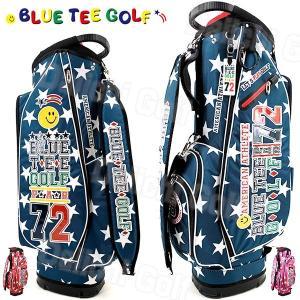 ブルーティーゴルフ 軽量 キャディバッグ スターナイロン 9型BLUE TEE GOLF STAR CB-006|daiichigolf