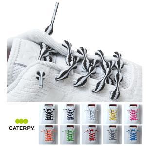 靴ひも キャタピラン CATERPYRUN+結ばない靴ひも伸縮型靴ひも 50cm/75cm|daiichigolf